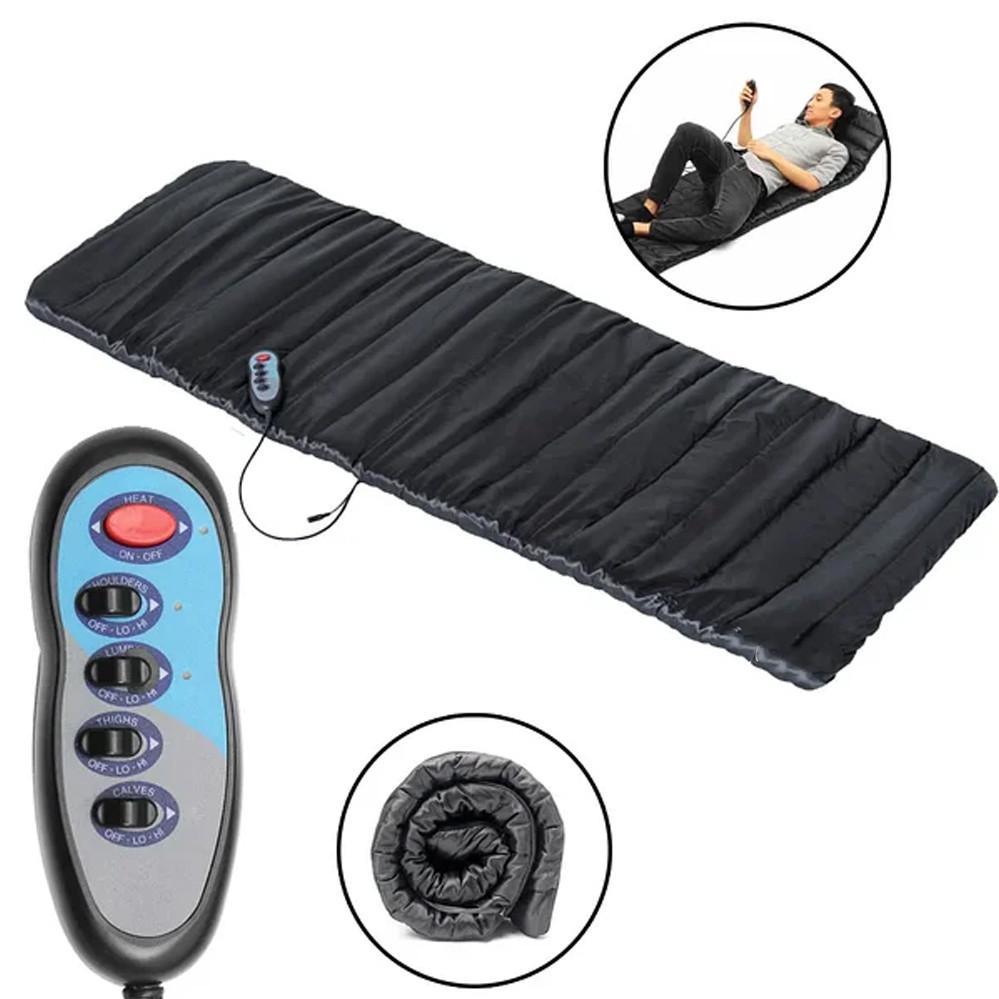Массажный матрас коврик с подогревом Massage Paradise Массажер для спины и шеи электронный