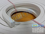 Профиль (уплотнитель) силиконовый резиновый 11х11 мм, фото 2