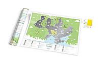 Скреч-карта Travel Map Моя Украина (укр. язык)