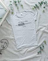 Женская футболка серая Infinite
