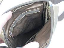 Небольшая кожаная сумка Always Wild 250MH коричневая, фото 3