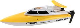 Катер на радиоуправлении Fei Lun FT007 Racing Boat Желтый FL-FT007y, КОД: 2432193