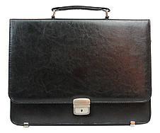 Портфель чоловічий з еко шкіри Exclusive, фото 3