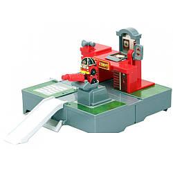 Гараж Robocar Poli мини трансформером Роэм 83364, КОД: 2429519