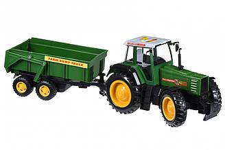 Машинка Same Toy Tractor Трактор с прицепом R975-1Ut, КОД: 2431289