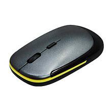 Миша бездротова, USB, Slim M NN-110 2.4 G, чорна, сіра, срібло, нов.