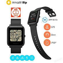 Смарт - часы Xiaomi Amazfit Bip Global с GPS, IP68. Black. Умные часы A1608