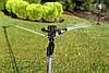 Дождеватель Presto-PS ороситель импульсный для огорода на 2 форсунки на ножке (RS 5022-7), фото 6