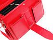 Женский портфель из эко кожи AMO Польша SST10 красный, фото 4