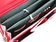 Женский портфель из эко кожи AMO Польша SST10 красный, фото 5