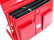 Женский портфель из эко кожи AMO Польша SST10 красный, фото 6