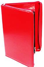 Жіноча ділова папка зі штучної шкіри AMO SSBW03 червоний, фото 2