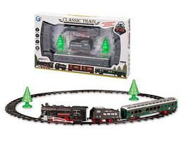 Железная дорога детская игрушка, классический поезд, 822-2