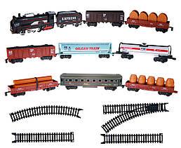 Детская игрушка Железная дорога с 9 вагонами - Big Motors (19033-8)