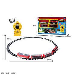 Железная дорога на радиоуправлении со светозвуковыми эффектами, 100 х 100 см