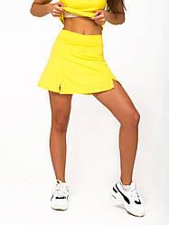 Желтая юбка-шорты NV Serrade