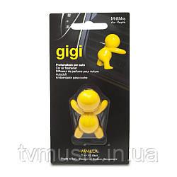 Ароматизатор в машину Mr&Mrs GIGI Vanilla - Yellow