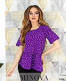 Блуза №168-фиолетовый 42;44;46;48;50, фото 2