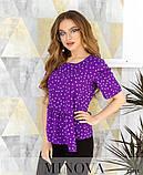 Блуза №168-фиолетовый 42;44;46;48;50, фото 3