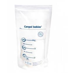 Пакеты для хранения молока Canpol Babies 20шт 70 001, КОД: 2426281