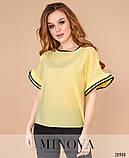 Блуза №1054-желтый 42-44;46-48;50-52, фото 2