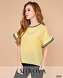 Блуза №1054-желтый 42-44;46-48;50-52, фото 3