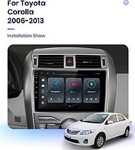 Junsun 4G Android магнітола для Toyota corolla 2006-2013 wifi
