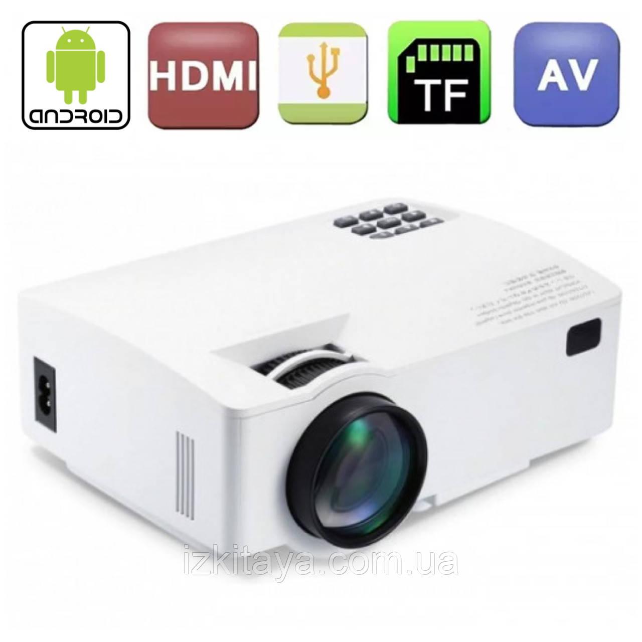 Мультимедійний проектор A8 портативний проектор для дому та офісу краща альтернатива телевізору