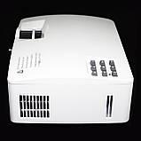 Мультимедійний проектор A8 портативний проектор для дому та офісу краща альтернатива телевізору, фото 4