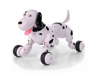 Робот собака Happy Cow на радиоуправлении Smart Dog черный HC-777-338b, КОД: 2432243