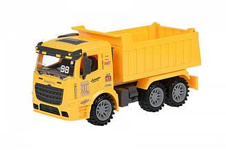 Машинка инерционная Same Toy Truck Самосвал желтый 98-614Ut-1, КОД: 2431207