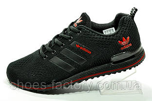 Кросівки сітка Adidas чоловічі чорні (Адідас)