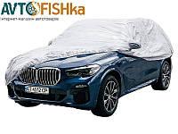 Автомобильный тент  джип/минивен Vitol   XL   482х196х145  PEVA с подкладкой, карман зеркал