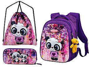 Рюкзак школьный для девочек Winner One R1-001 Full Set