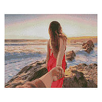 Алмазна мозаїка «Follow me» FA 40743, 40 - 50 см