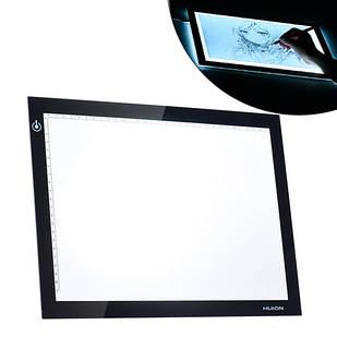 "LED планшет светокопировальный, лайтпад HUION L4S 12.2х8.27"", MicroUSB"