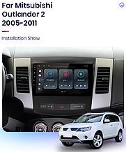 Junsun 4G Android магнітола для Mitsubishi Outlander XL2 2005-2011 wifi