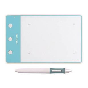 """Графический планшет с пером HUION H420 4x2.23"""" кнопки, белый"""