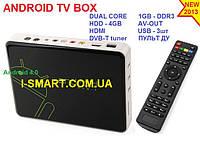 Mk830 Android TV Box Android 4.0 HDMI DVB-T(для тюнера)+RJ45+AV Output+ пульт, фото 1