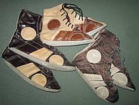 Борцовки (самбетки) кожаные размер от 30 до 39