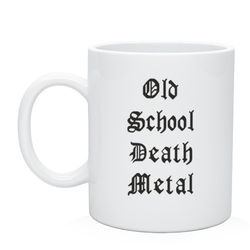Кружка Old school death metal