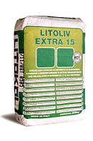 LITOLIV EXTRA 15 - Самовыравнивающий состав от 1 до 15 мм. Для внутренних работ.