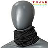 Бафф шарф-труба летний Eco 100% Cotton (Black)