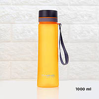 Пляшка для води CASNO 1000 мл KXN-1111 Помаранчева