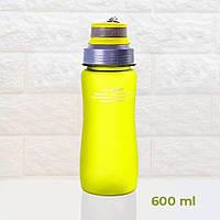 Пляшка для води CASNO 600 мл KXN-1116 Зелена