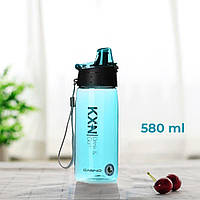 Пляшка для води CASNO 580 мл KXN-1179 Блакитна