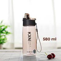 Пляшка для води CASNO 580 мл KXN-Коричнева 1179