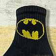 Шкарпетки бетмен чорні розмір 36-44, фото 3