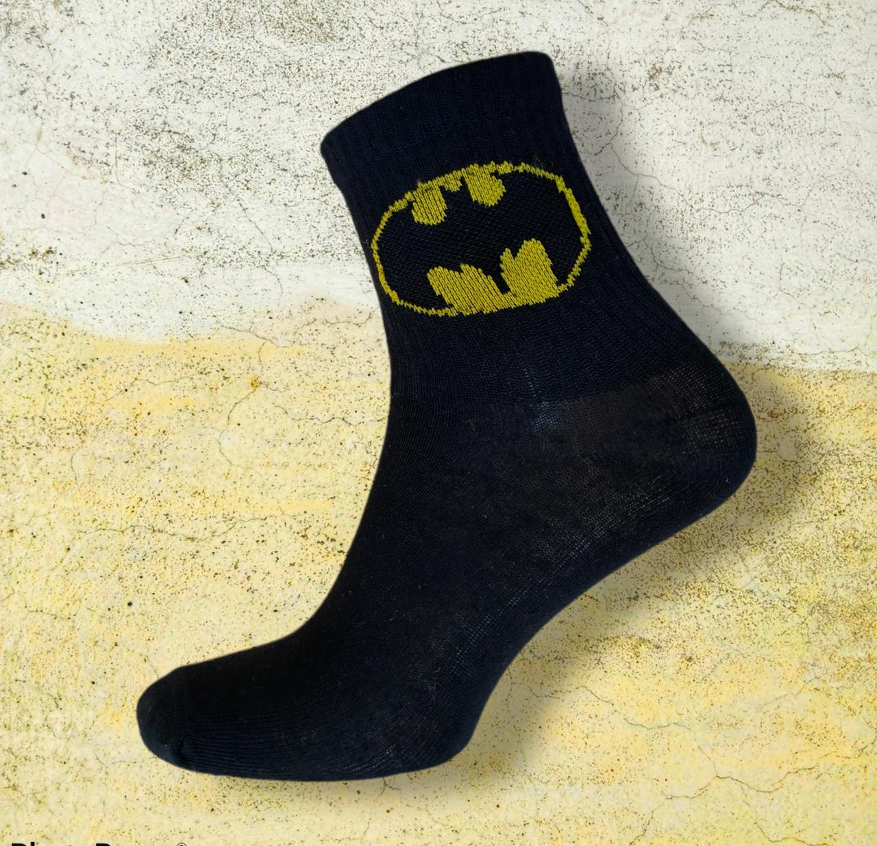 Шкарпетки бетмен чорні розмір 36-44