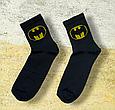 Шкарпетки бетмен чорні розмір 36-44, фото 2